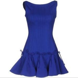 DSquared2 Mini Blue Flare Dress